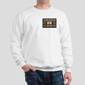 AFGHANISTAN MILITARY VET Sweatshirt