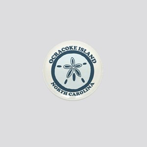 Ocracoke Island - Sandollar Design Mini Button