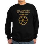 Steampunk Endless Screw Sweatshirt (dark)