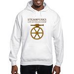 Steampunk Endless Screw Hooded Sweatshirt