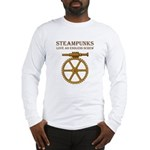 Steampunk Endless Screw Long Sleeve T-Shirt