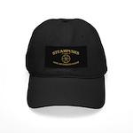 Steampunk Endless Screw Black Cap