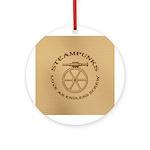 Steampunk Endless Screw Ornament (Round)