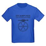 Steampunk Endless Screw Kids Dark T-Shirt