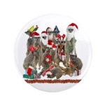 "Xmas Meerkats 3.5"" Button"