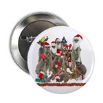 "Xmas Meerkats 2.25"" Button (100 pack)"