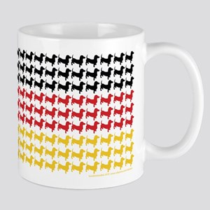 Dachshund Patriotic German Flag Mug
