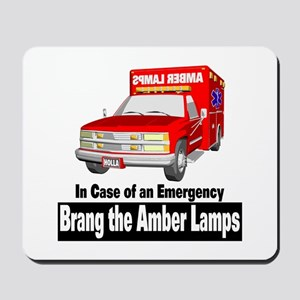 Brang The Amber Lamps Mousepad