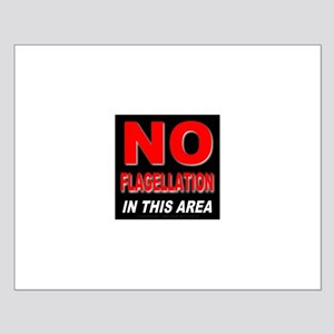 No Flagellation Small Poster