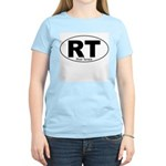 River Terrace Decal-Style Women's Pink T-Shirt