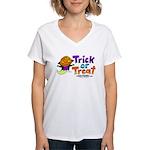 I M Halloween Women's V-Neck T-Shirt