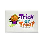 I M Halloween Rectangle Magnet