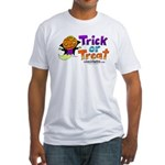 I M Halloween Fitted T-Shirt