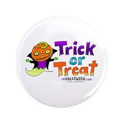 "I M Halloween 3.5"" Button"