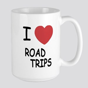 I heart road trips Large Mug