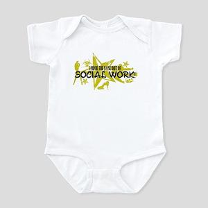 I ROCK THE S#%! - SOCIAL WORK Infant Bodysuit