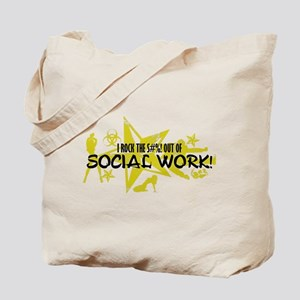 I ROCK THE S#%! - SOCIAL WORK Tote Bag