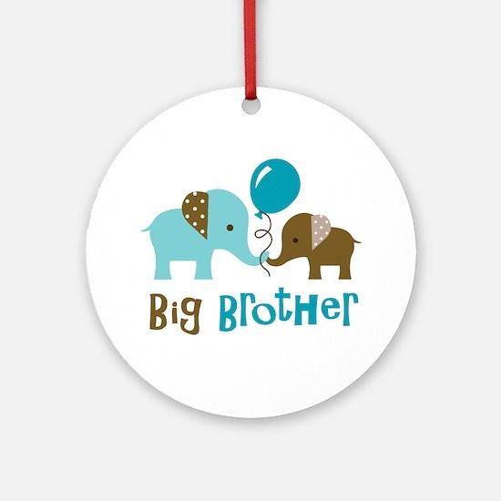 Big Brother - Mod Elephant Ornament (Round)