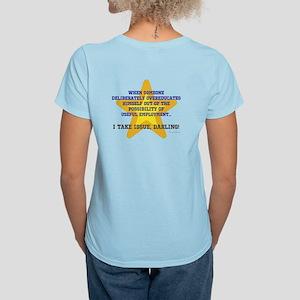 Overeducated Women's Light T-Shirt