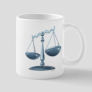 scale of justice Mug