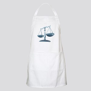 scale of justice Apron