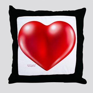 healthy heart life style Throw Pillow