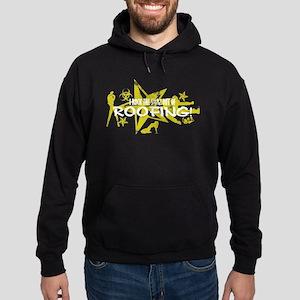 I ROCK THE S#%! - ROOFING Hoodie (dark)