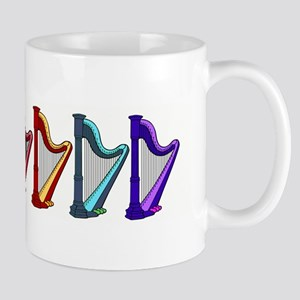 rainbow harps Mugs