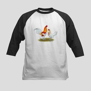 Old English Bantam: Red Pyle Kids Baseball Jersey