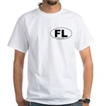 Fort Lincoln Decal-style White T-Shirt