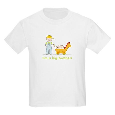 I'm a Big Brother Kid's T-shirt: Twins