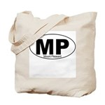 Mt Pleasant Decal-style Tote Bag