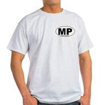 Mt Pleasant Decal-style Ash Grey T-Shirt