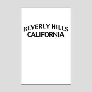 Beverly Hills Mini Poster Print