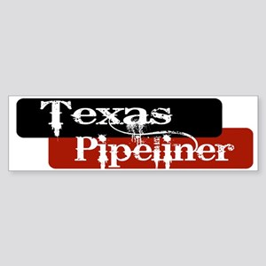 Texas Pipeliner Sticker (Bumper)