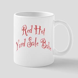 Red Hot Yard Sale Babe Mug