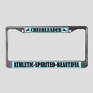 Cute Cheerleader Athletic Spirited Beautiful Frame