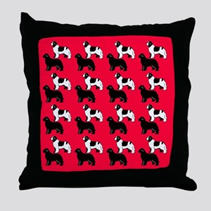 more the merrier Throw Pillow