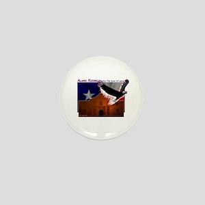 Alamo Rising Mini Button