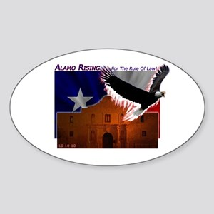 Alamo Rising Sticker (Oval)