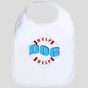 Help Dog Help White/Red Life Bib