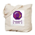 [inclusion works] Tote Bag