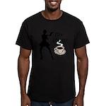 My Coffee Men's Fitted T-Shirt (dark)