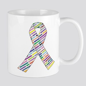 all cancer rep ribbon 2 Mugs