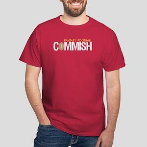 Fantasy Football Commish Dark T-Shirt