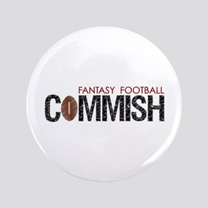 "Fantasy Football Commish 3.5"" Button"