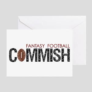 Fantasy Football Commish Greeting Card