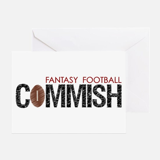 Fantasy Football Commish Greeting Card