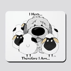 Sheepdog - I Herd... Mousepad
