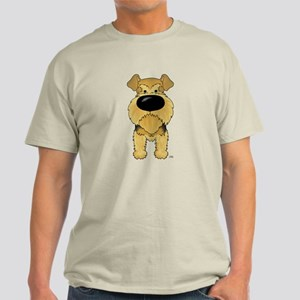 Big Nose Airedale Light T-Shirt